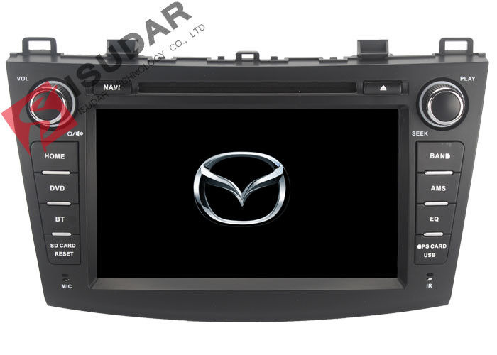 Radio RDS Car GPS Navigation DVD Player Mazda 3 Touch Screen Head Unit Heat Dissipation