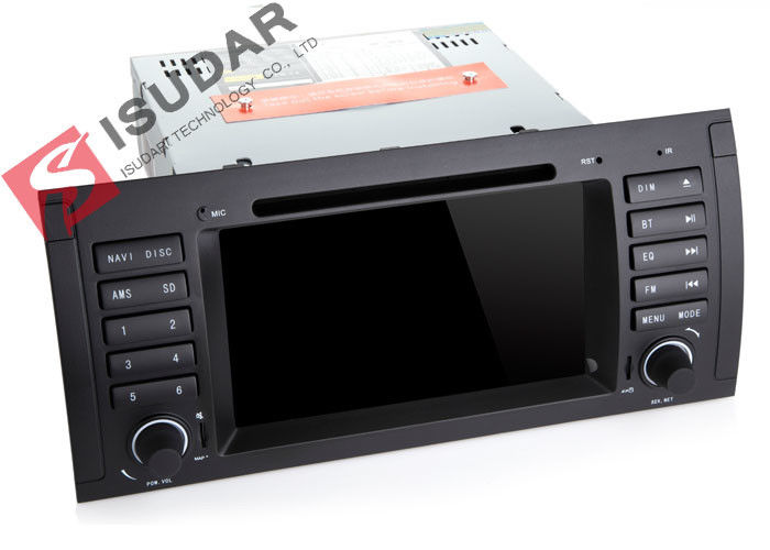 Mirrorlink DAB + Tuner BMW DVD GPS Navigation BMW E53 Head Unit Support 4K Video