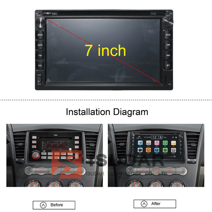 chery a3 reproductor de dvd de la navegaci n gps del coche. Black Bedroom Furniture Sets. Home Design Ideas